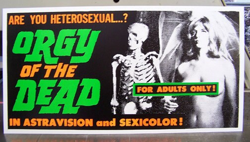Orgy of the dead 1965