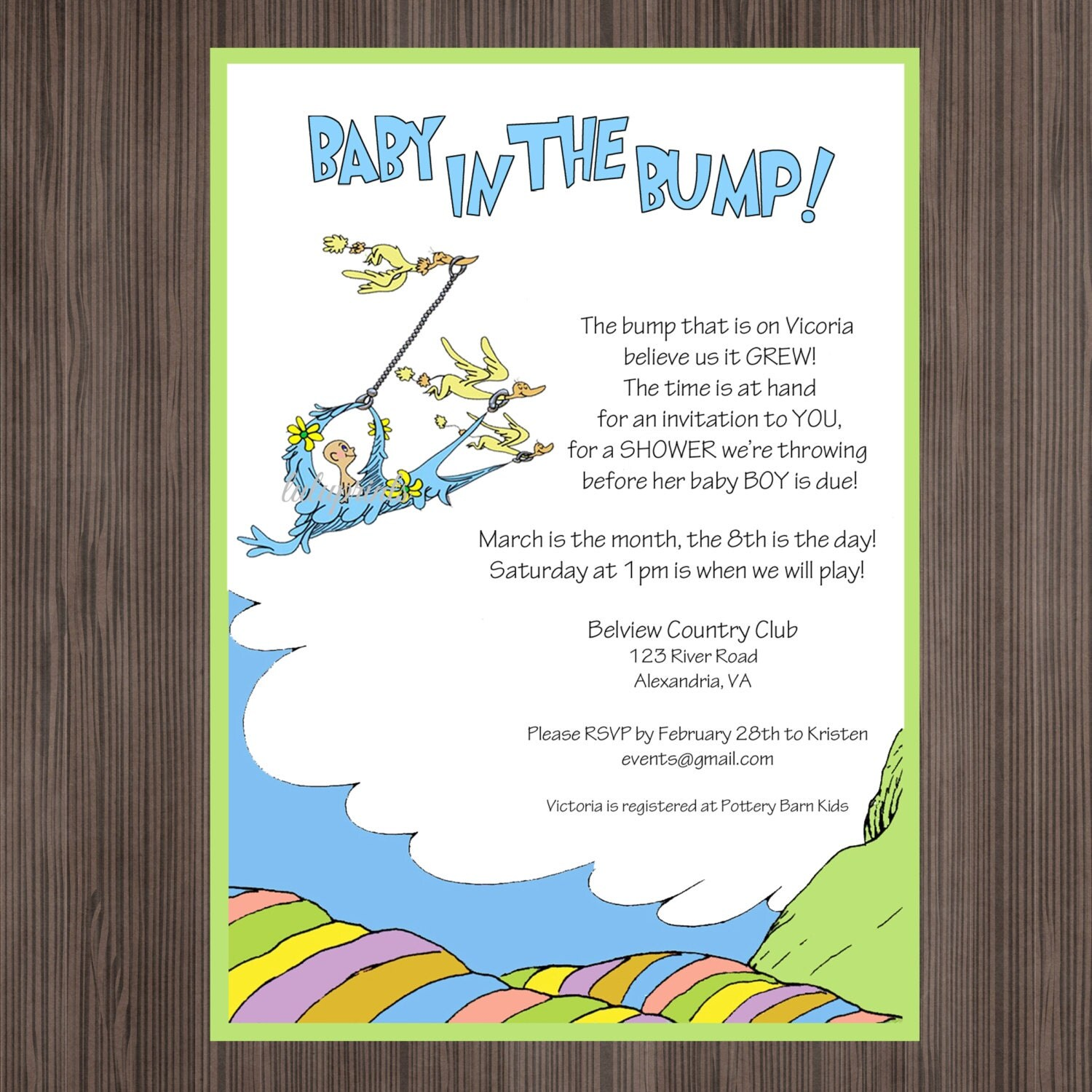 oh the places you 39 ll go invitation printable baby shower
