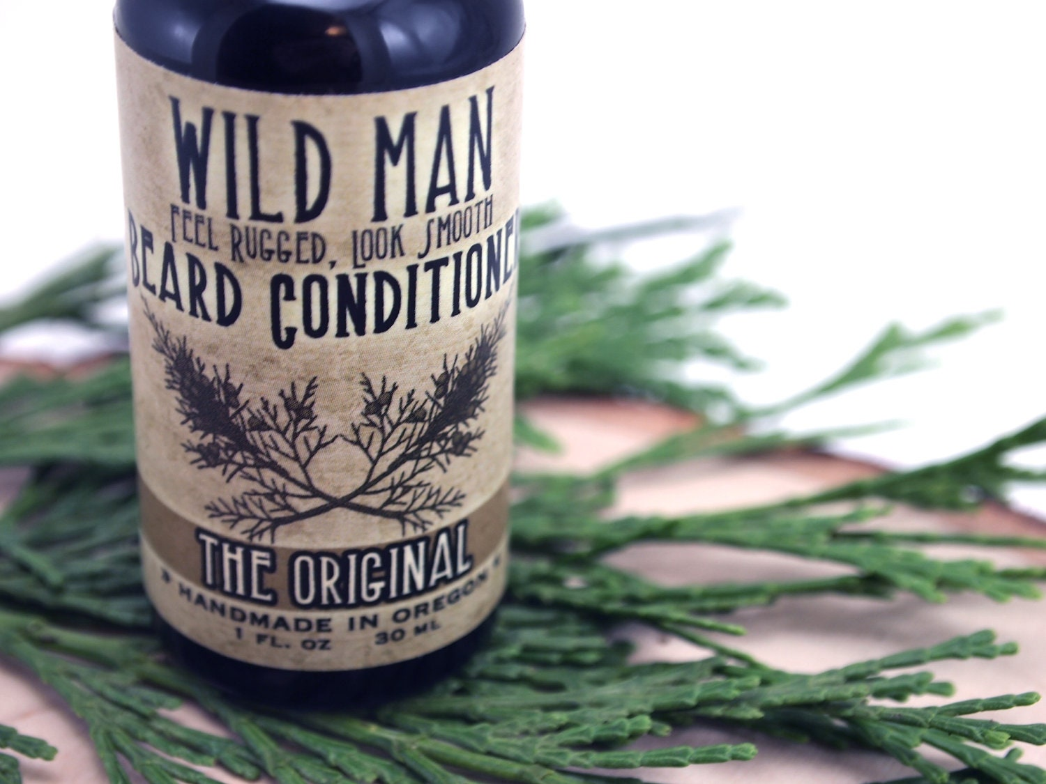 Man Gift Beard Conditioner Oil Wild Man Beard Softener 30ml