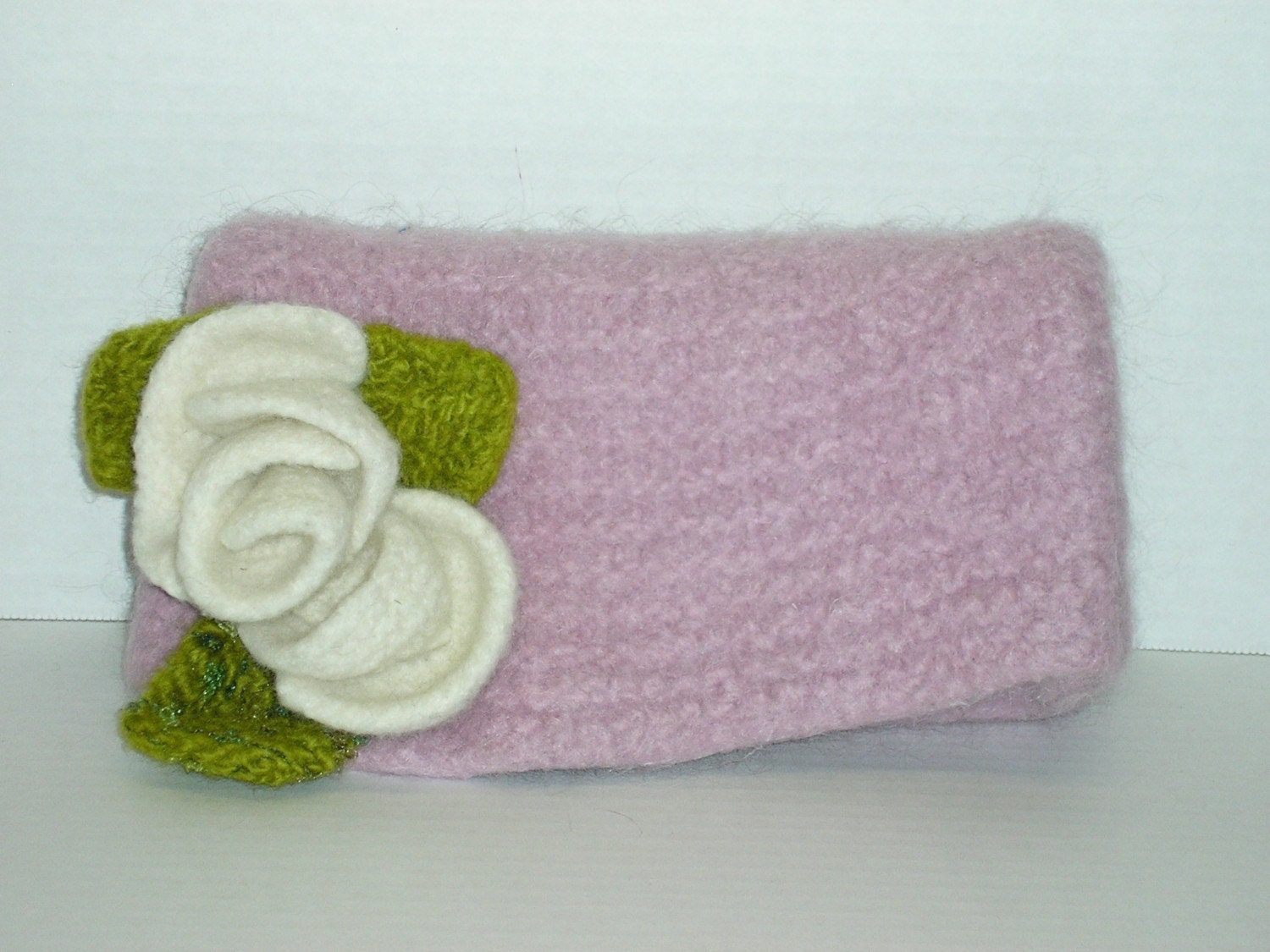 Free Knitting Pattern Clutch Bag : Felted Knitting Patterns Felted Clutch Bag by ...