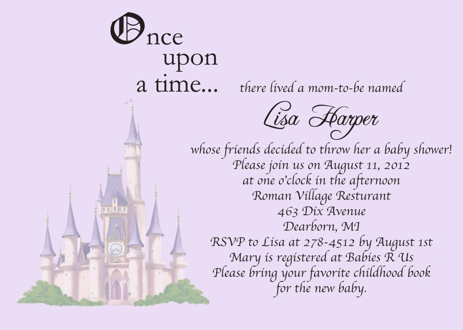 Storybook Invitations Baby Shower with amazing invitations design