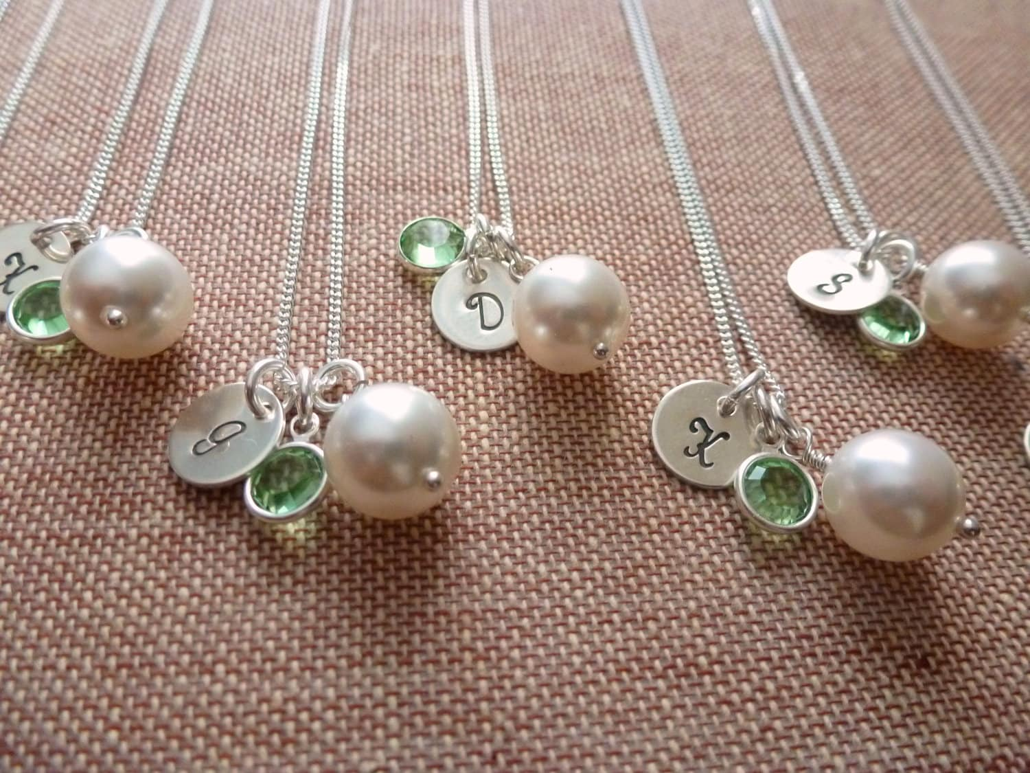 Wedding Gift Jewelry Suggestions : Bridesmaid Jewelry Need ideas, Post your pictures! - Weddingbee