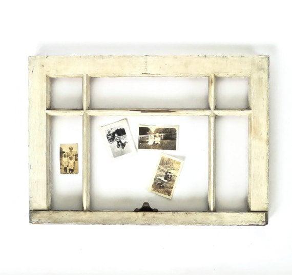 Six Pane Wood Window Frame - marybethhale