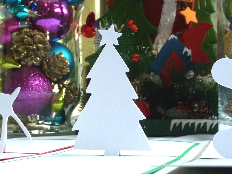Christmas Tree Pop Up Christmas Card