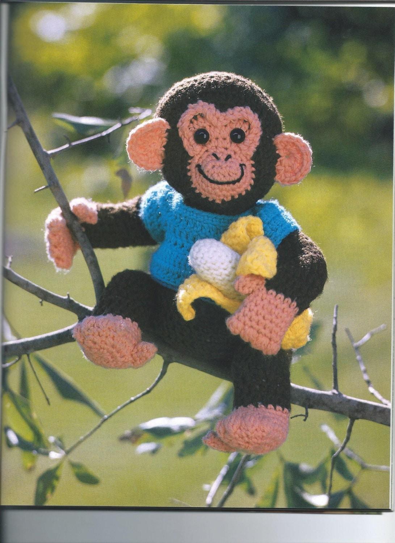 Вязаные обезьянки своими руками на новый год