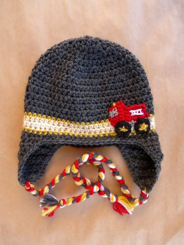 Crochet Pattern For Baby Fireman Hat : CROCHET SOMETHING FIRETRUCK ? Only New Crochet Patterns