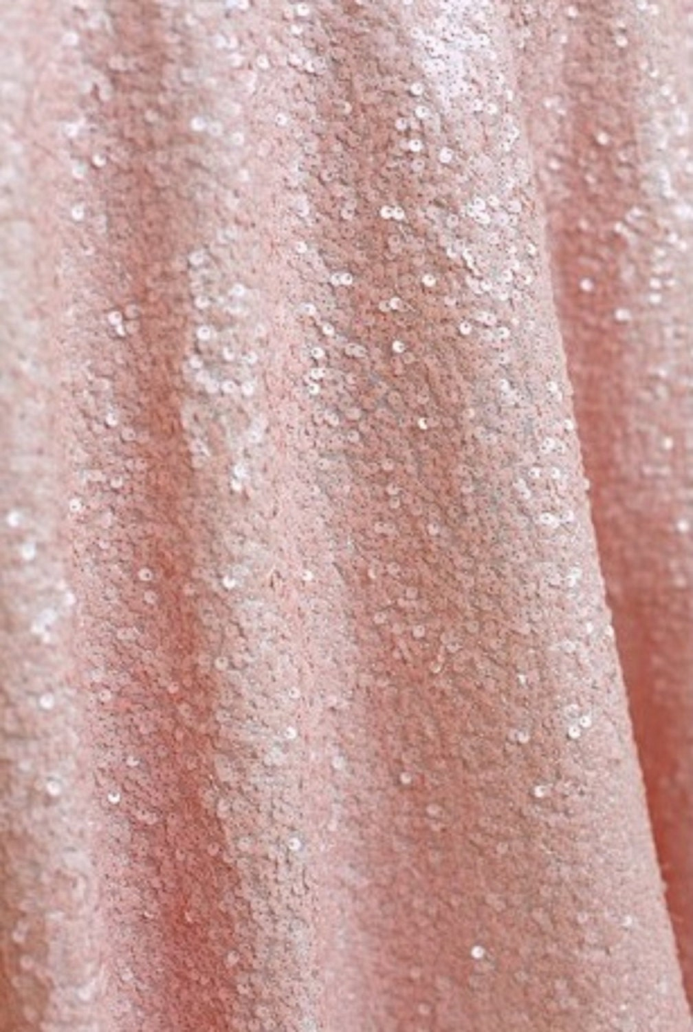 Pink Table Cloth : Blush PINK SEQUIN OVERLAY Light Pink by ModernCelebrations on Etsy