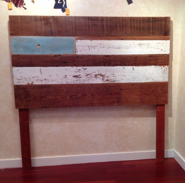 items similar to on sale reclaimed wood headboard queen on etsy. Black Bedroom Furniture Sets. Home Design Ideas