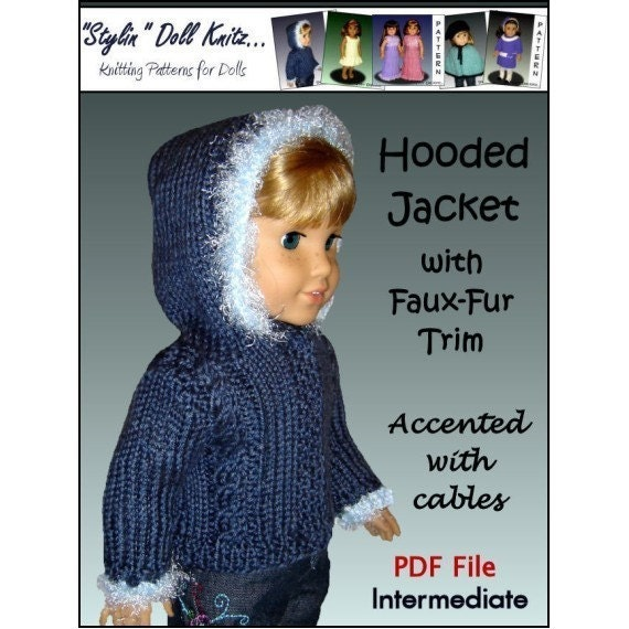 My Maplelea My Country My Doll Wonderful Knitting Patterns For 18