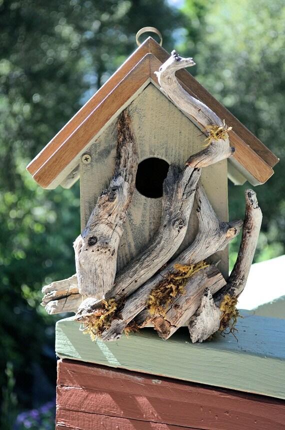 Rustic Birdhouses, Whimsical, Bird Box, Driftwood, Birds Habitat, Free ...