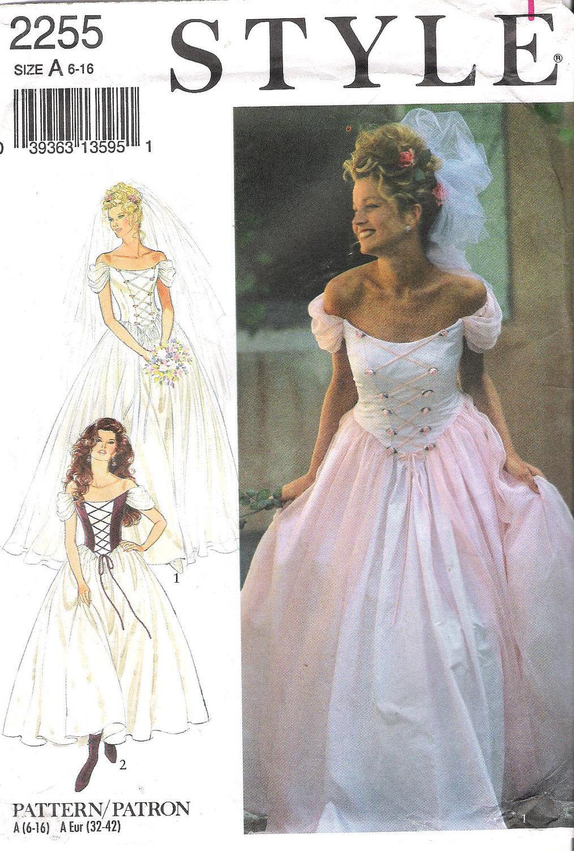 Wedding dress sewing patterns uk wedding dresses asian for Sewing wedding dress patterns