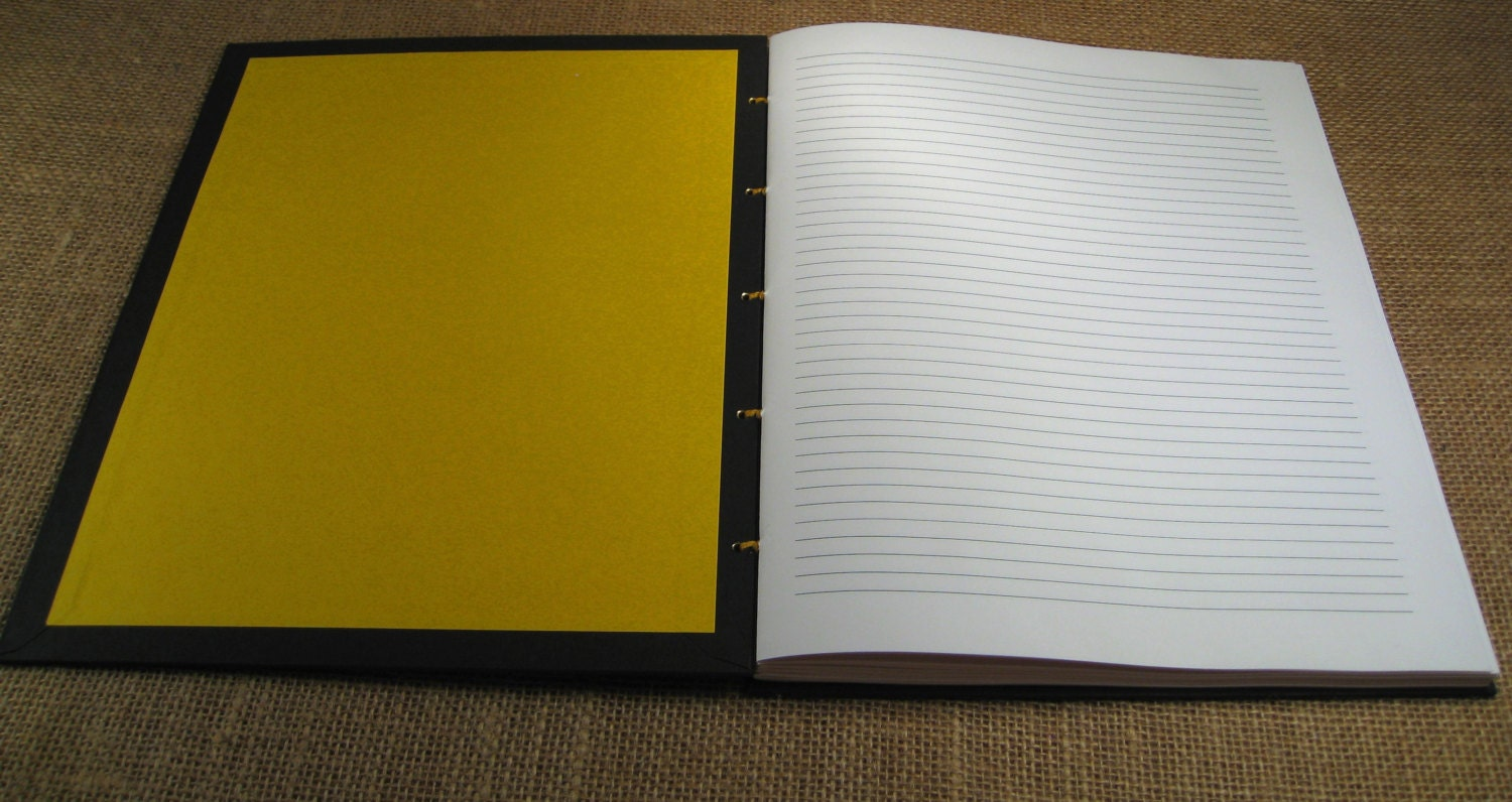 customized lined writing paper
