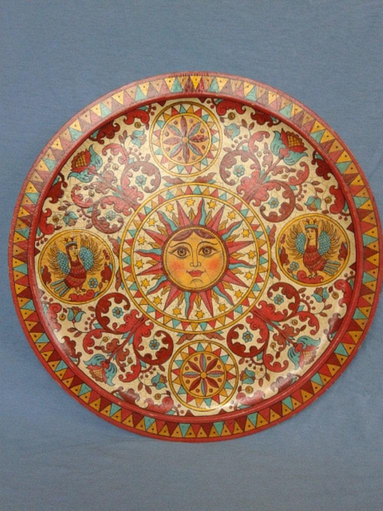 Славянские стили росписи