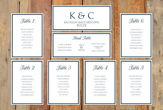 wedding seating chart template download by diyweddingtemplates. Black Bedroom Furniture Sets. Home Design Ideas