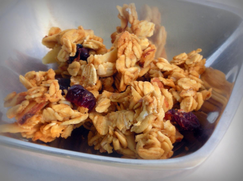 Cranberry Orange Gourmet Granola - All Natural Vegan Granola - Healthy ...