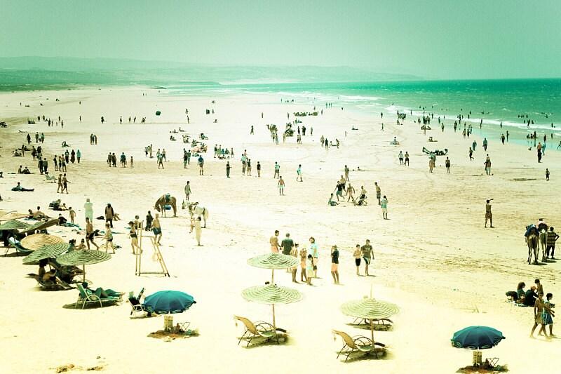 Beach photography,beach photograph,aqua,cream 8x12