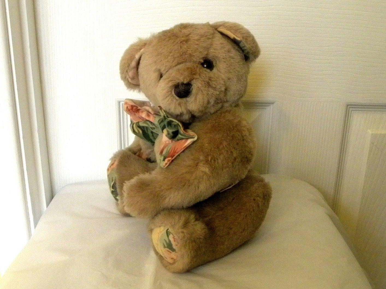 Vintage 11 Bear  Teddy Plush Toy  Sandersons Bear  Tubby 11 inch Teddy