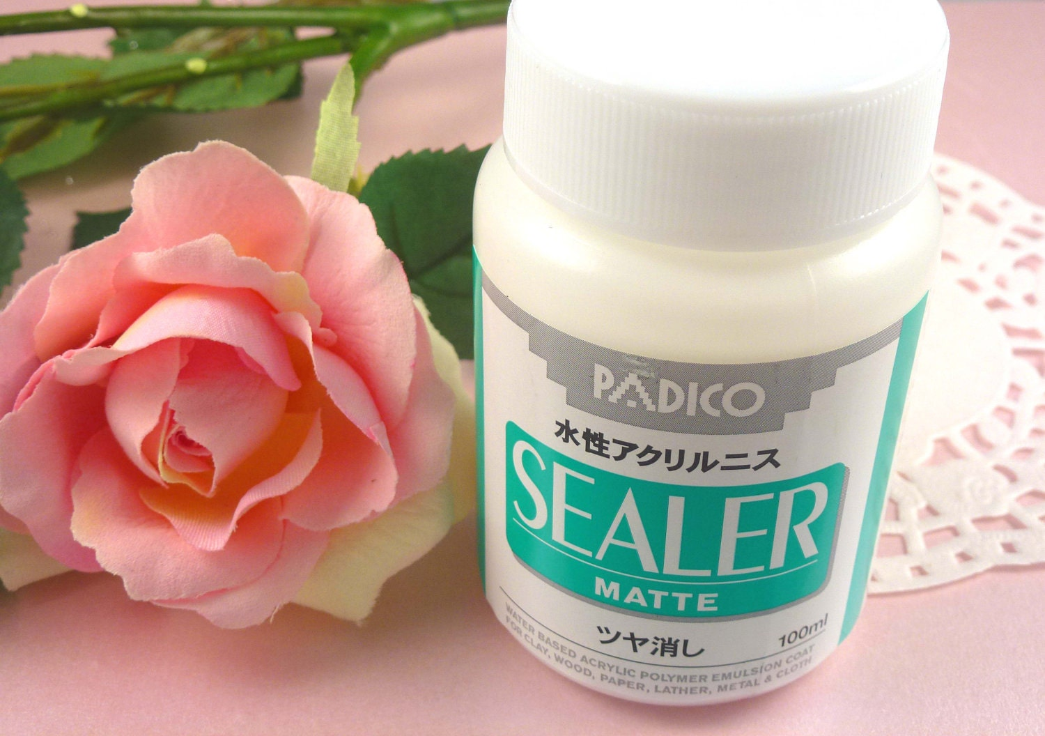 Items similar to padico matte clay waterproof sealer for Waterproof acrylic sealer for crafts