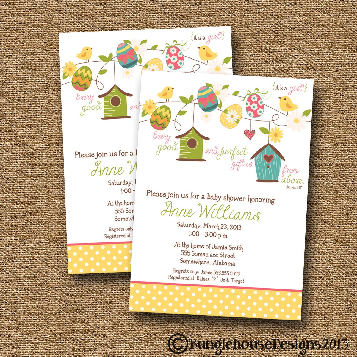 easter spring baby shower invitation diy printable blooms and