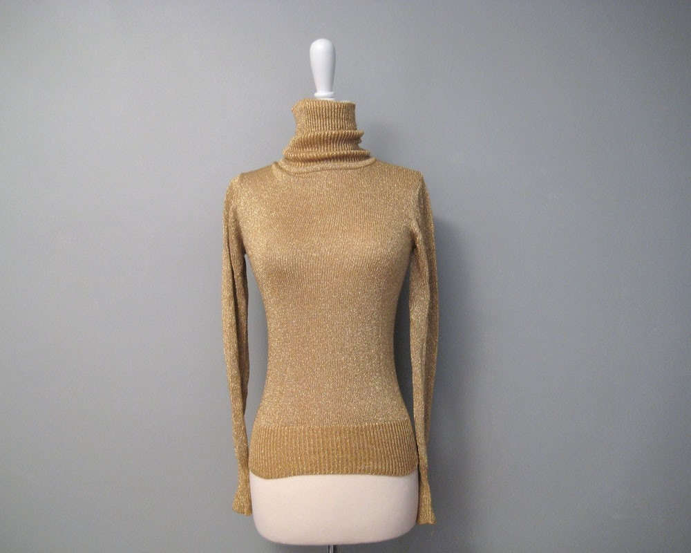 Gold Lame Sweater 120