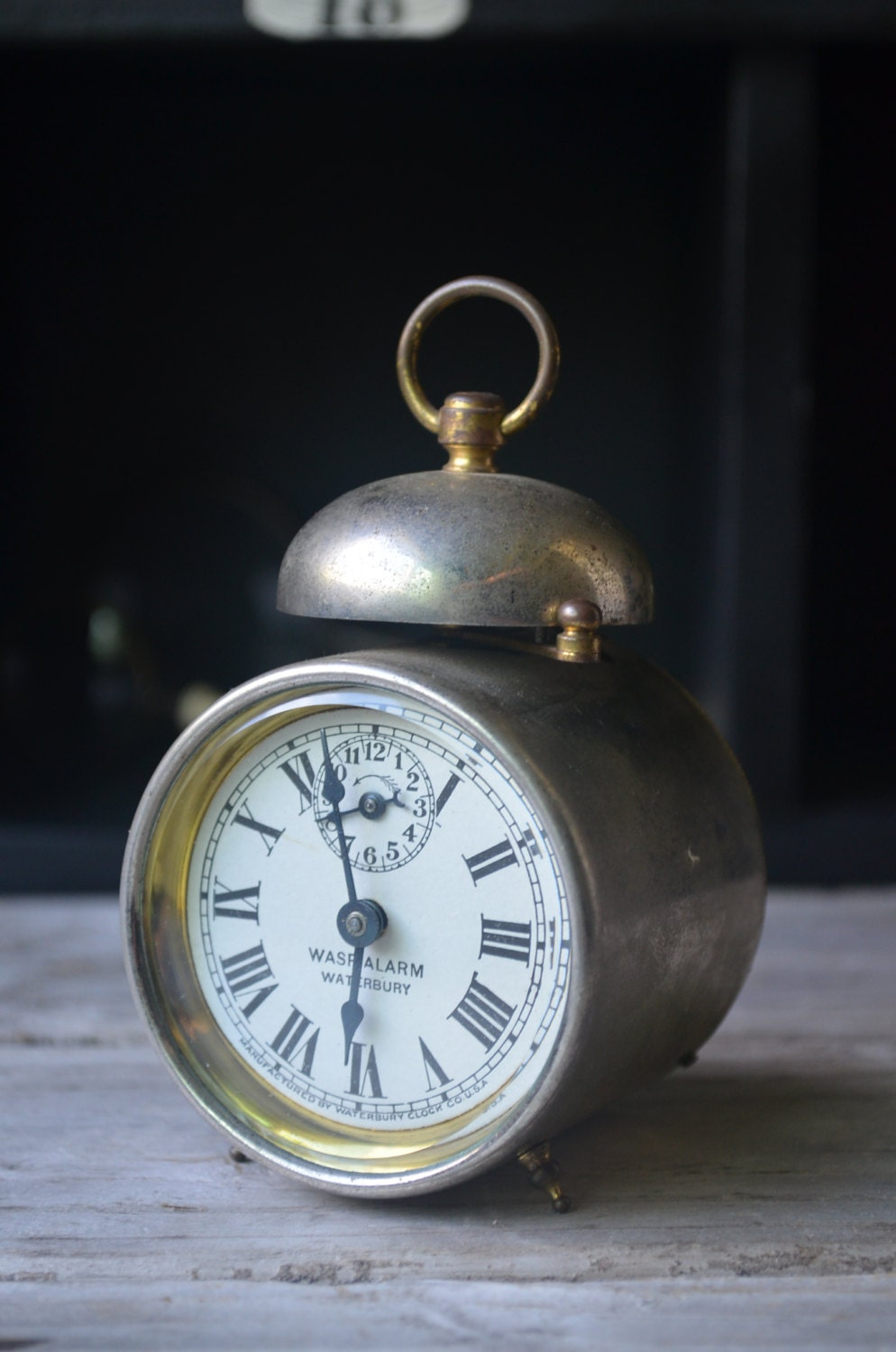 Antique Miniature Alarm Clock - housewarming101