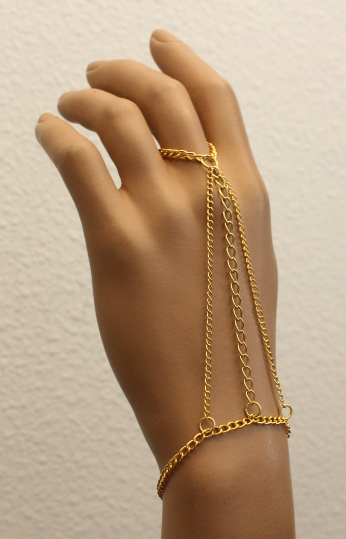 Hand Chain New Womens Fashion Jewelry Stylish Chic Accessory Bracelet
