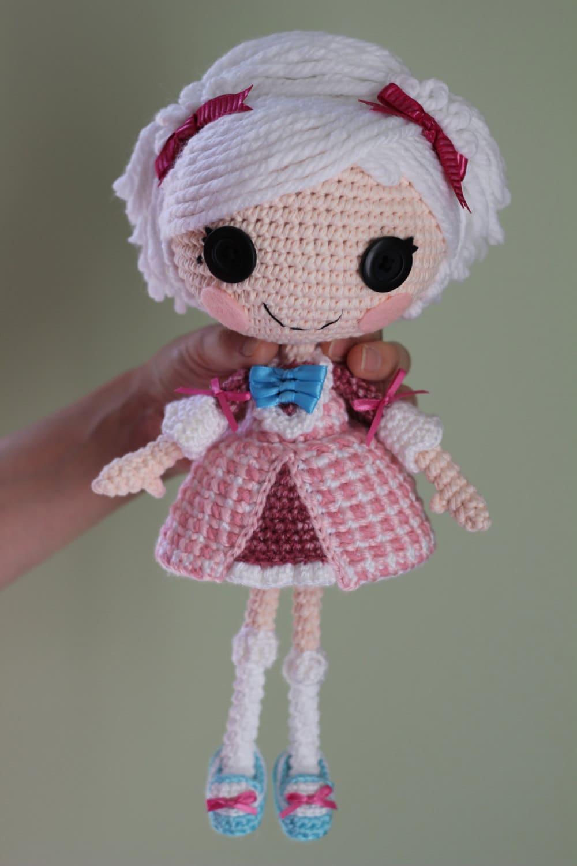 Схеме: Lalaloopsy Suzette La Сладкий Вязаные куклы Amigurumi