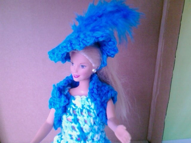 New Handmade  BARBIE DOLL CLOTHES  Evening wear designed and made by nannycheryl  849x 10