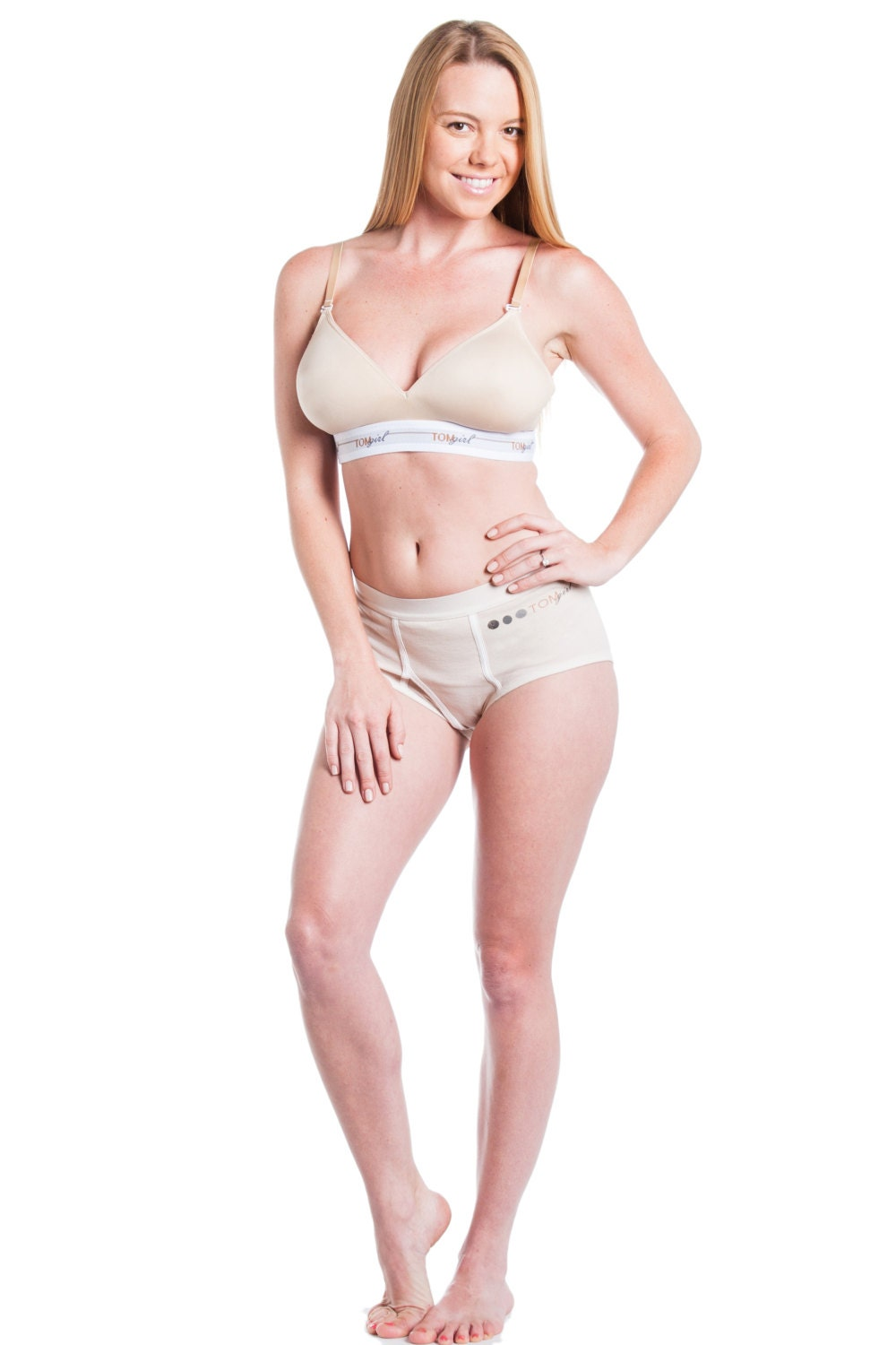 Bra experts recommend professional bra fittings from the lingerie department of a clothing store or a specialty lingerie store, especially for cup sizes D or larger, and particularly if there has been significant weight gain or loss, or if the wearer is continually adjusting her bra.