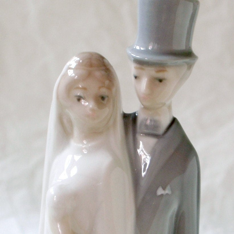 Lladro Bride And Groom Wedding Cake Topper By RattyAndCatty