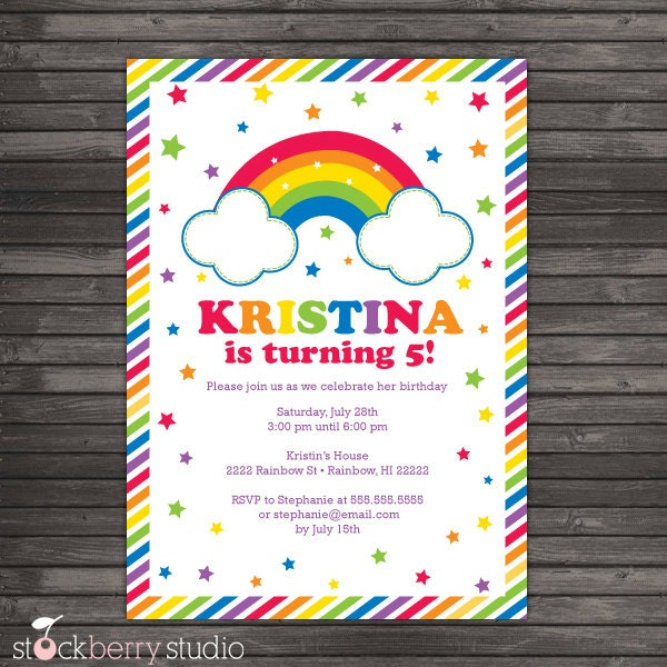 7Th Birthday Invitation Card Printable for amazing invitation template