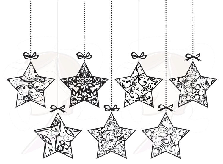 Fiocchi Di Natale Con La Carta  e Realizzarli together with Christmas Stars Clipart Black And White besides Easy Christmas House Decorations as well Making Christmas Decorations additionally Handmade Home Decoration Pieces. on homemade christmas tree decorations