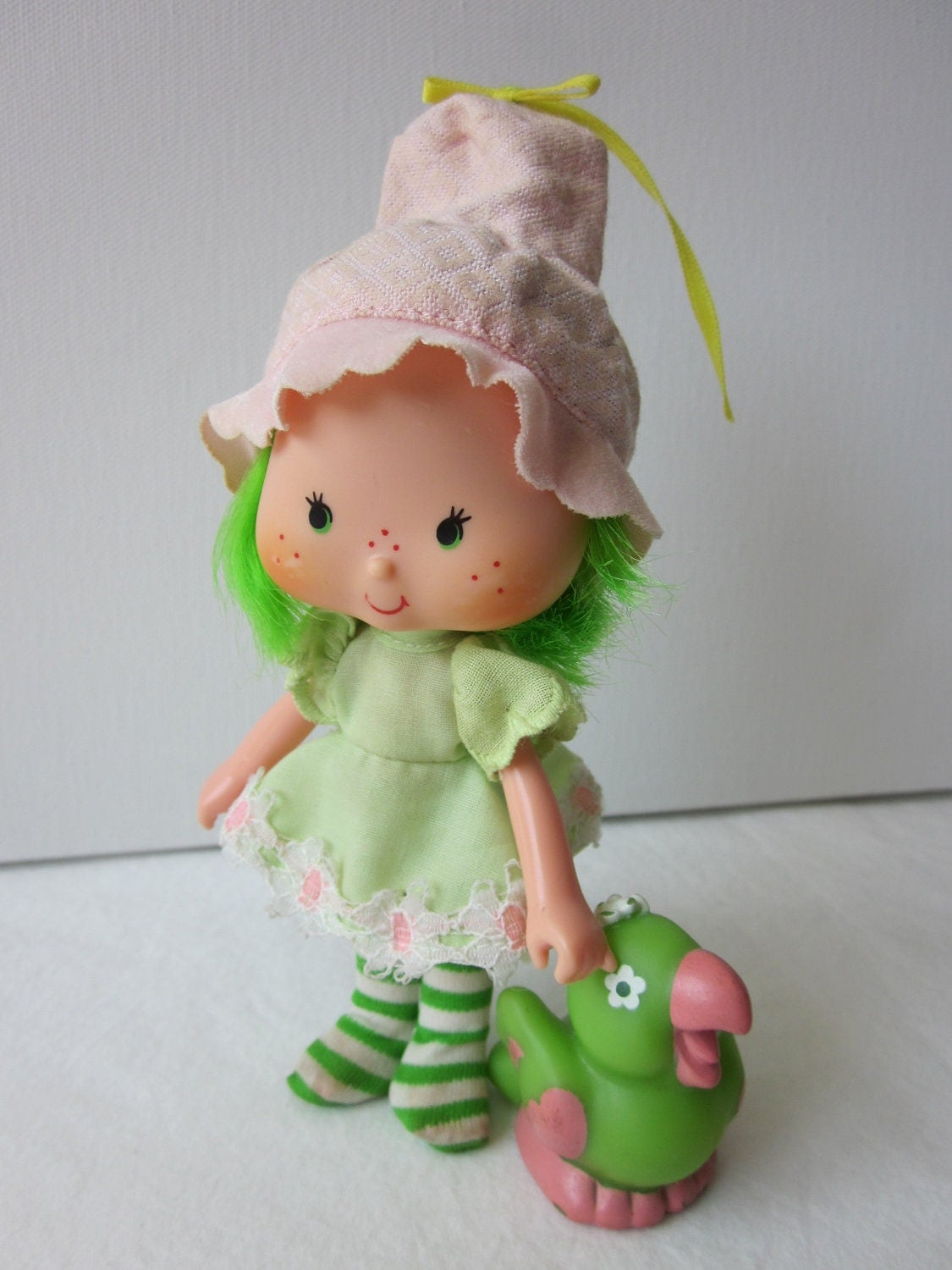 Vintage Strawberry Shortcake Lime Chiffon Doll by NostalgiaMama