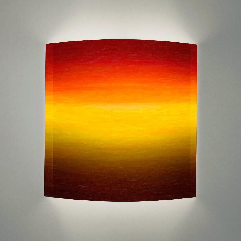 28 yellow light fixture 2x 2w led wall light fixture lamp s