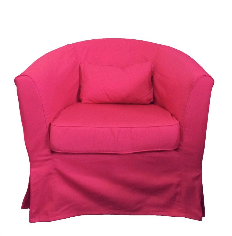 ikea ektorp tullsta custom slipcover in hot pink by. Black Bedroom Furniture Sets. Home Design Ideas