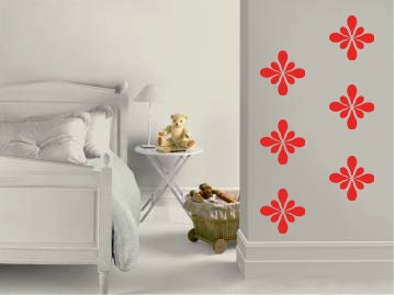 Gorgeous Simple Art Vinyl Wall Decals - Living Room Wall Decor - Childrens Room Stickers