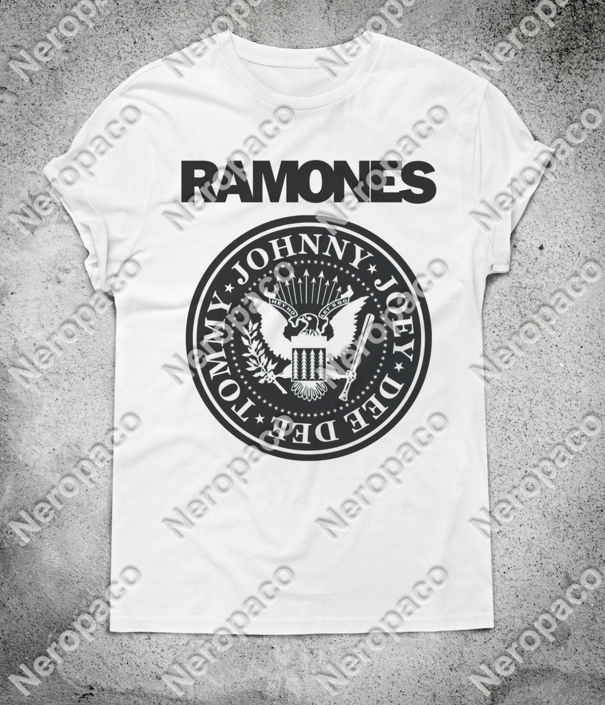 Ramones Punk Rock Music Band Vintage TShirt  000049