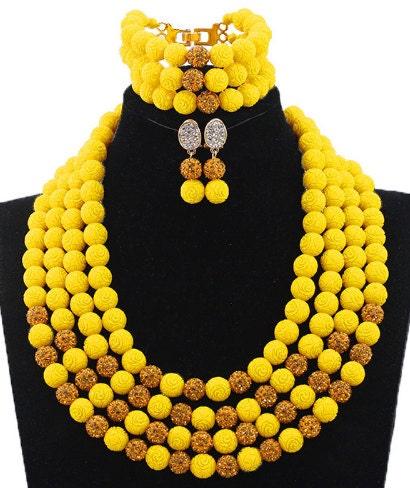 Fantastic Coral Bridal Beads Jewellery Sets