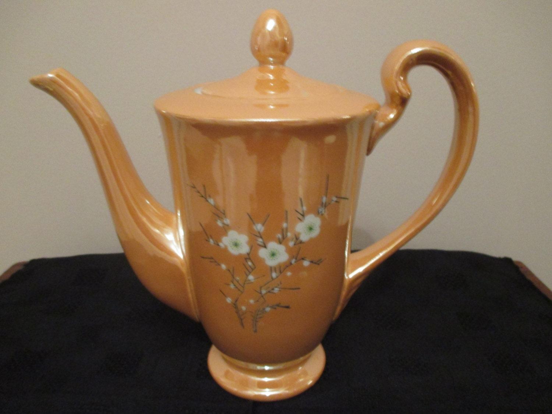 Elegant Chinese Coffee or Tea Pot