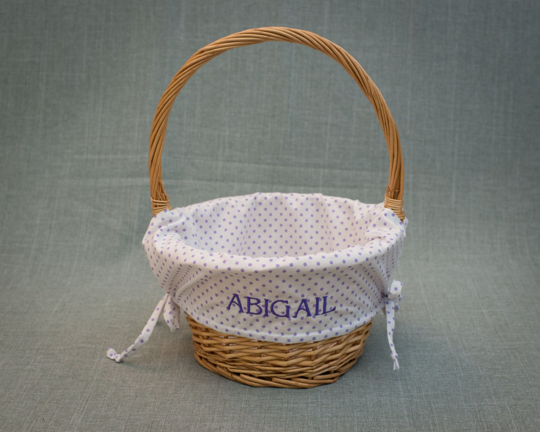 Personalized easter basket liner custom made by brandnoonan - Custom made easter baskets ...