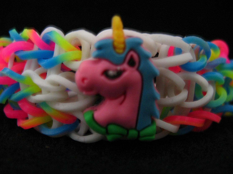 Rainbow Loom Amigurumi Unicorn : Unavailable Listing on Etsy