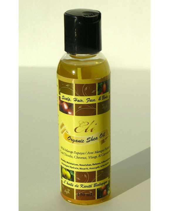 Shea Oil - Mango Papaya 150ml