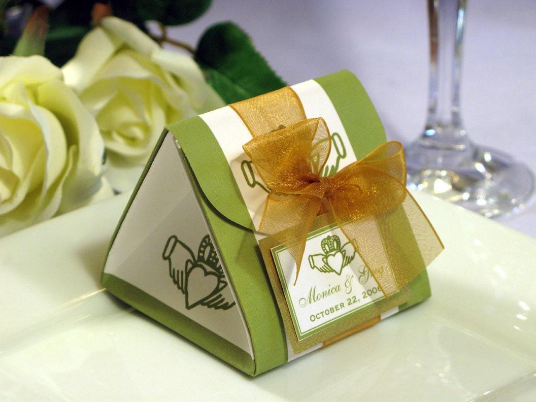 Claddagh Irish Wedding Origami Favor Boxes We Can By Shadow090109