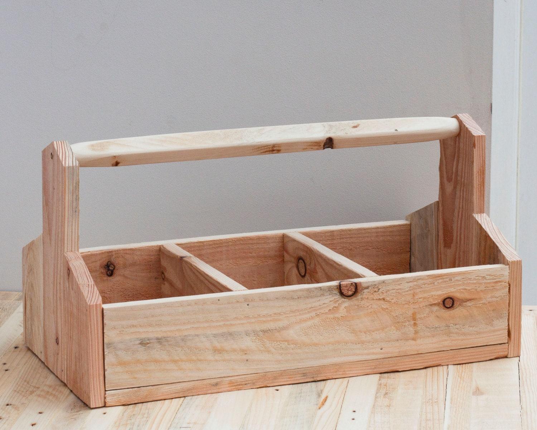 Wooden Gardening Box  Large Garden Tidy