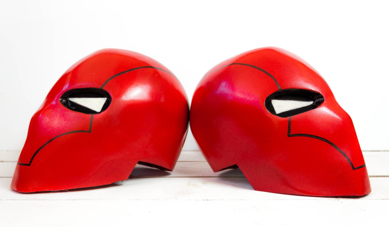 Red Hood Batman Costume Helmet By Thelittlegeek On Etsy