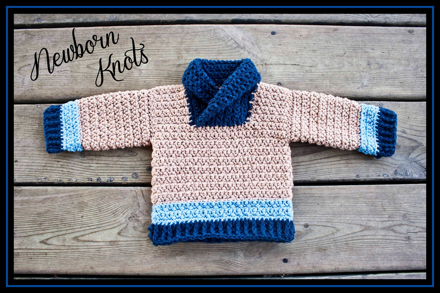Crochet Baby Boy Hooded Sweater Pattern : CROCHET PATTERN For Baby Boy or Girls Textured by NewbornKnots
