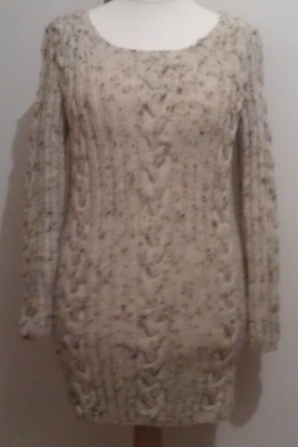 aran jumper dress