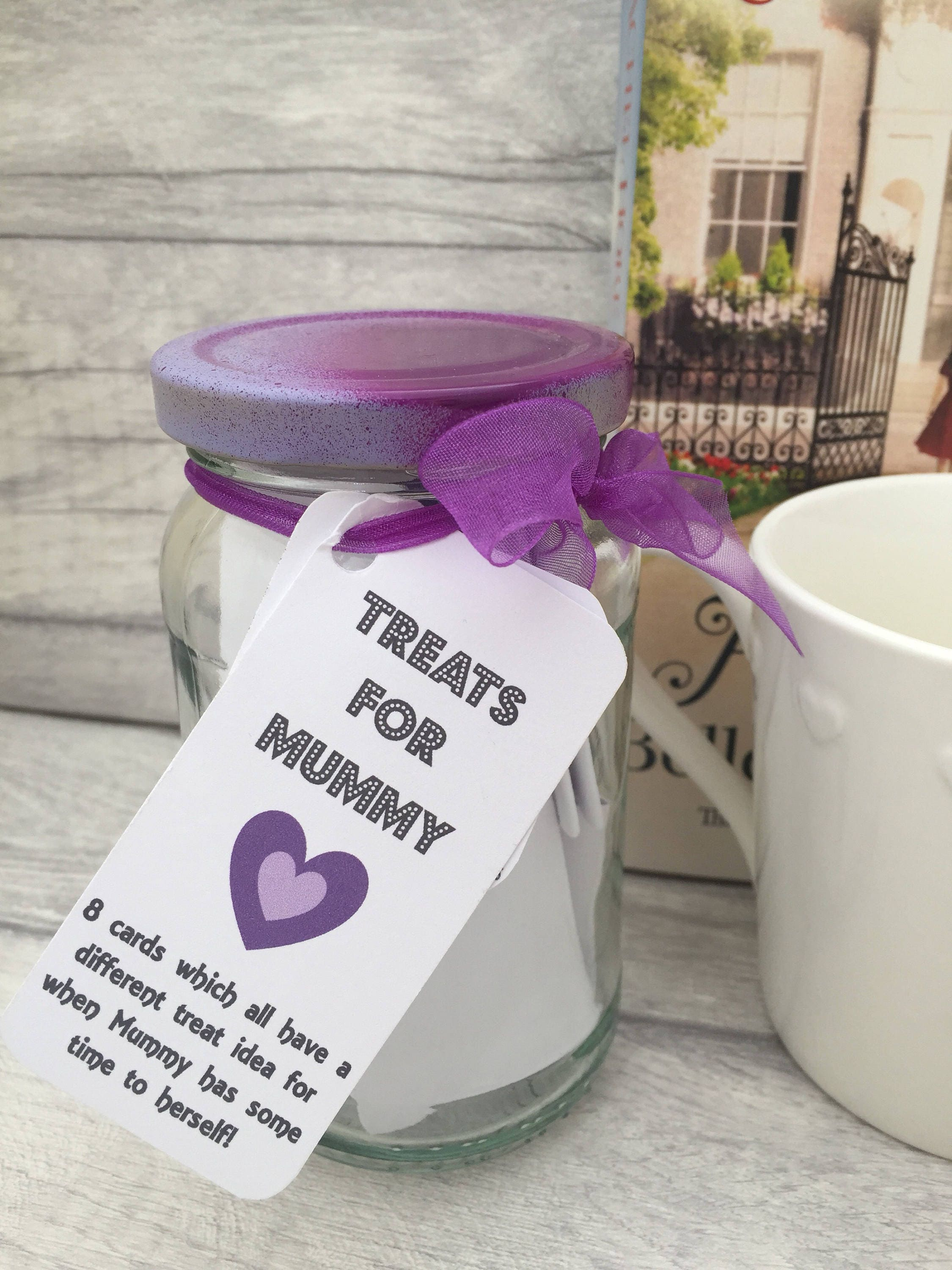 Treats for Mummy  Jam Packed Jars  Gift for Mums  Mummy Time  Thank You Mum