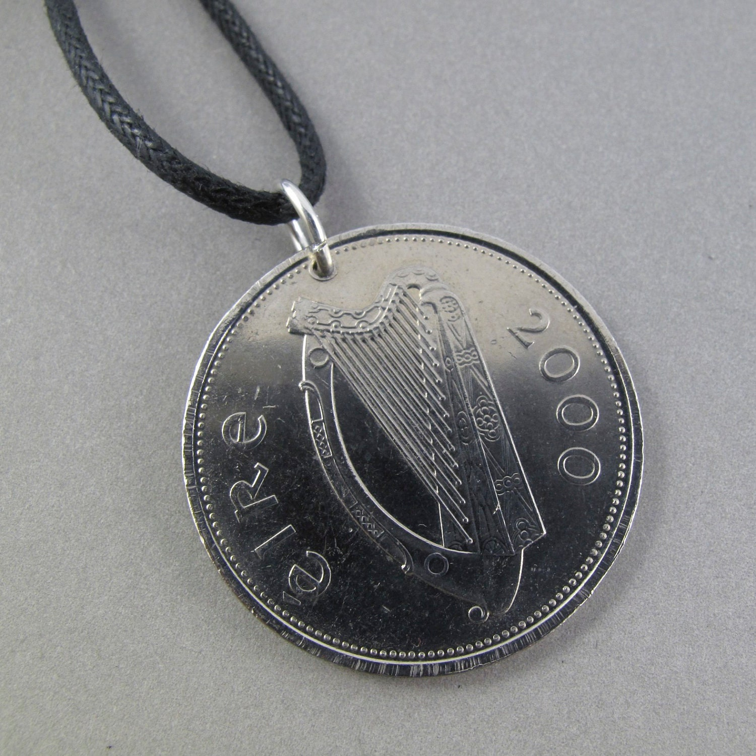 mens jewelry ireland coin coin necklace by