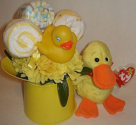 Beautiful Duck Lollipop Bouquet